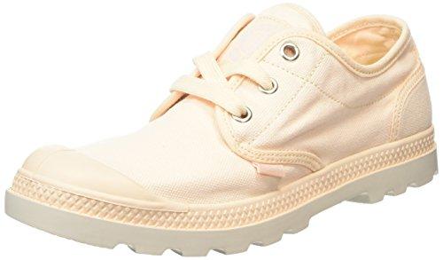 Palladium Damen Pampa Oxford Lp Sneakers Pink (Linen/Silver Birch)