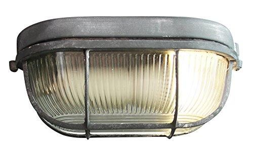 mit LED-Leuchtmittel Lampenlux Wandlampe Oki Spiegelleuchte 2-flammig Badleuchte Chrom Glas IP44