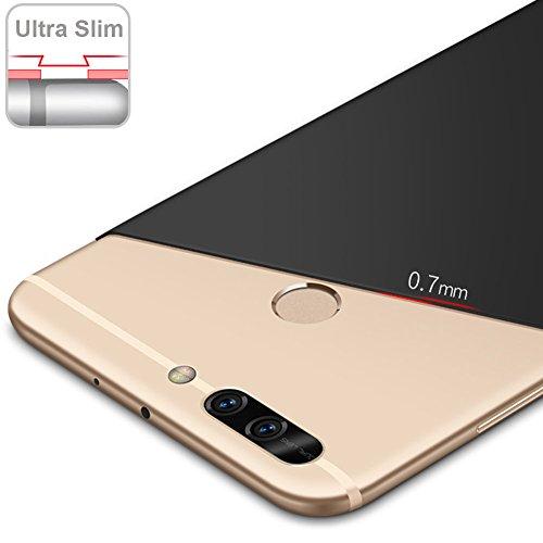 Coque Huawei Honor 8 Pro 5,7 pouces / Honor V9, MSVII® Très Mince Coque Etui Housse Case et Protecteur écran Pour Huawei Honor 8 Pro 5,7 pouces / Honor V9 - Violet JY00265 Violet