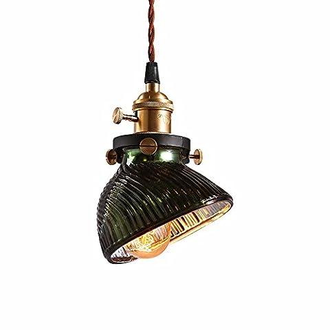Leihongthebox Vintage Pendentif Lumière Plafond industriel Lampe Steampunk Art Fer