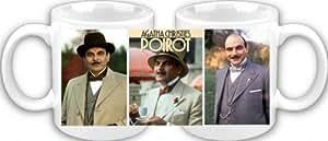Tasse à café Motif Agatha Christie Hercule Poirot