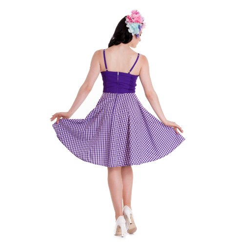 Clair sATURDAY dRESS robe à la lavande lapin Violet - Lavender