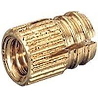 Spreizmuffe 48578 für Gewinde M 4 Messing blank Bohr-Durchmesser 5mm