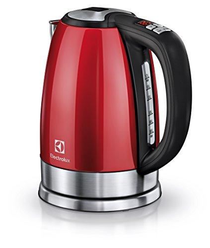 Electrolux EEWA7700R Bollitore Plus, 2400 W, 1.7 l, Acciaio Inossidabile, Inox, Rosso