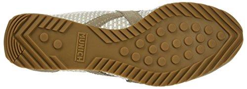 Munich Damen Osaka Sneaker, Beige, 36 EU Grau
