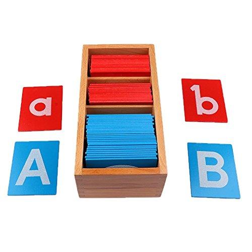 OEM Montessori Sandpapier Alphabets Board Spielzeug P?dagogisches Holzspielzeug Buchstaben Karte Holz Brett Lernspielzeug Geschenke f?r Kinder