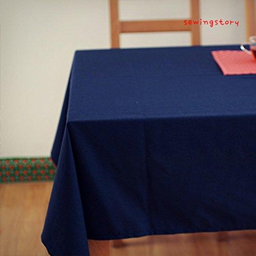 Chino clásico mesa algodón color sólido Bubu Artes