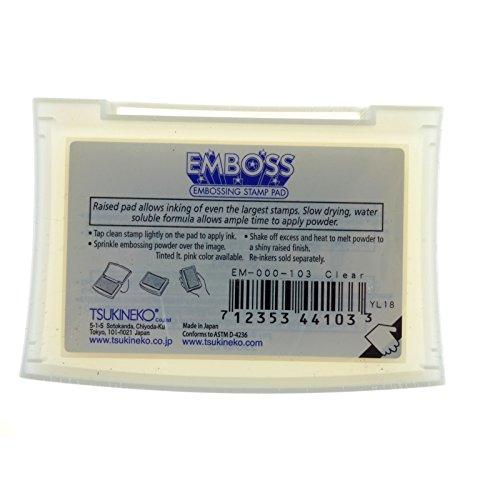 ! Tsukineko – Tampone di inchiostro per goffratura, colore: Trasparente comprare on line