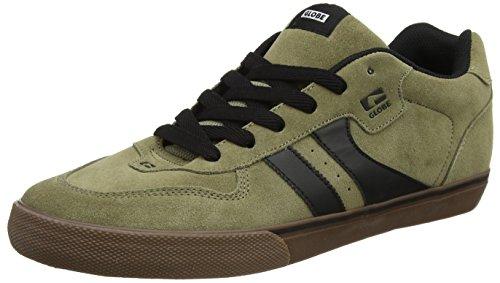 Globe Herren Encore-2 Skateboardschuhe, Mehrfarbig (Dusty Olive/black), 46 EU (12 US) - Encore Cap