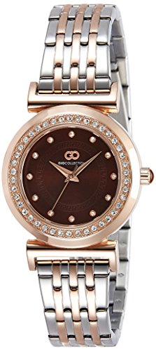 Gio Collection Analog Brown Dial Women's Watch - G2014-22 image