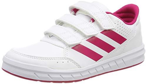 adidas Altasport CF K, Scarpe Sportive Indoor Unisex - Bambini, Bianco (Ftwr White/bold Pink/ftwr White), 32 EU