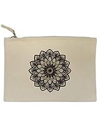 f0a9f217d Azeeda 'Mandala de Flores' Bolso de Embrague / Accesorios Case (CL00016717)