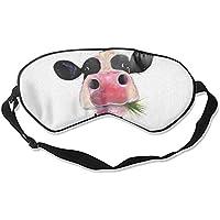 Künstliche Schlafmaske mit Kuhmotiv, für Damen, Herren, Mädchen, Erwachsene, Augenmaske, Augenbinde, für Reisen... preisvergleich bei billige-tabletten.eu