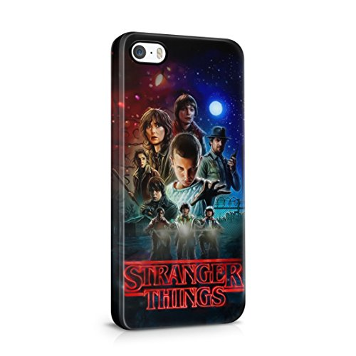 Stranger Things All Characters iPhone 5 / 5S Hard Plastic Phone Case Cover
