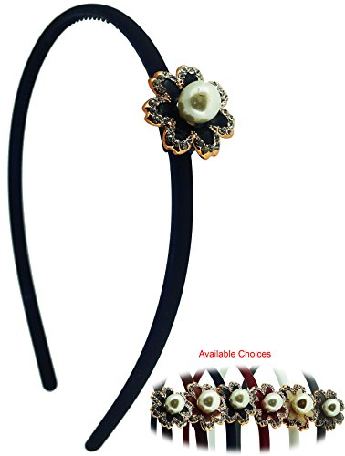 iOna Beauty Essentials ABSET15G6C Alice Hair Band Bandeaux Head Bands Hairband Headband for Girls  available at amazon for Rs.125