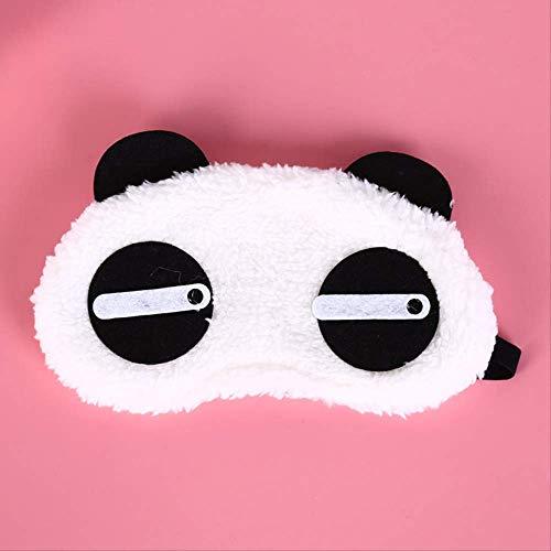 Süße Panda Schlafen Gesicht Auge...