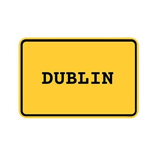Preisvergleich Produktbild JOllify Aufkleber - DUBLIN – Farbe: Design: Ortsschild