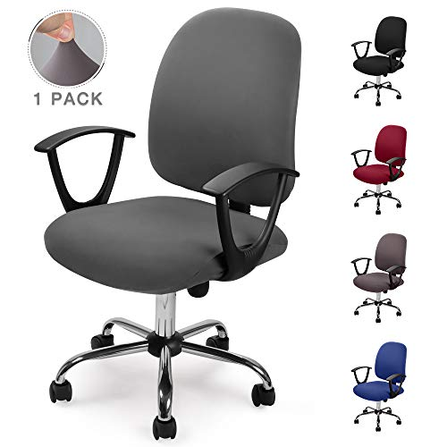 Eckonaver Fundas para sillas Oficina Cubierta de la Silla Fundas Elástica Funda...
