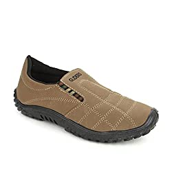 Gliders (From Liberty) Mens Gable Beige Moccasins - 6 UK/India (39EU)(8126035163390)