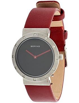 BERING Damen Armbanduhr rot 10629-604