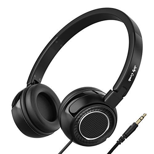 Leichte Kopfhörer, Vogek Stereo Faltbare On Ear Wired Headset 3.5mm Kompakte On Ear Stereo Ohrhörer für TV, Handy, Laptop and andere Geräten