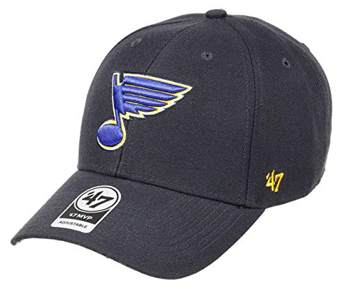 47 Brand Forty Seven St. Louis Blues MVP Curved Visor Velcroback Cap Limited Edition - Louis Blues Bekleidung