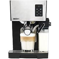 BEEM Espresso-Siebträgermaschine 1110SR - Elements of Coffee & Tea, 1450 W, 19 bar, Milchaufschäumer, Edelstahl (Espressomaschine)