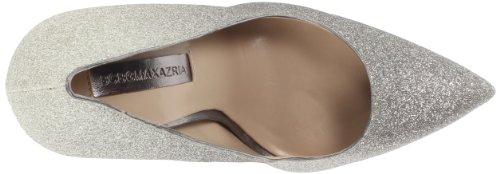 BCBG Max Azria Gami Femmes Synthétique Talons Compensés Silver Glitter