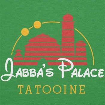 TEXLAB - Jabba's Palace Tatooine - Herren T-Shirt Grün