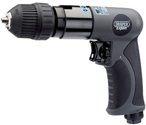 Draper 14258 Druckluft-Bohrmaschine, 10mm Schnellspannbohrfutter, weicher Griff, 3/8''-Antrieb