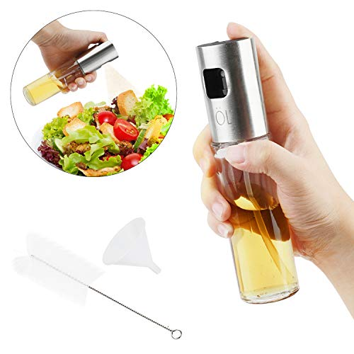 Dispensador de pulverizador de aceite para cocina/ensalada/pan/horneado/barbacoa/cocina