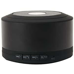Emartbuy® Black Compact Portable Super Bass Wireless Bluetooth Speaker With Handsfree Suitable for All New HTC One M8 2014