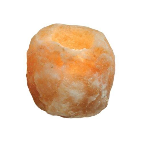 Porte-bougie chauffe-plat en sel de l'Himalaya tailles assorties (0,7 kg - 1 kg