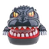 MagiDeal Praktische Witze Kreative Mund Zahn Hand Kind Spielzeug Kinderspielzeug Familie Spiele Klassische Beißende Hand Spieltisch Spiel - Grauer Dinosaurier