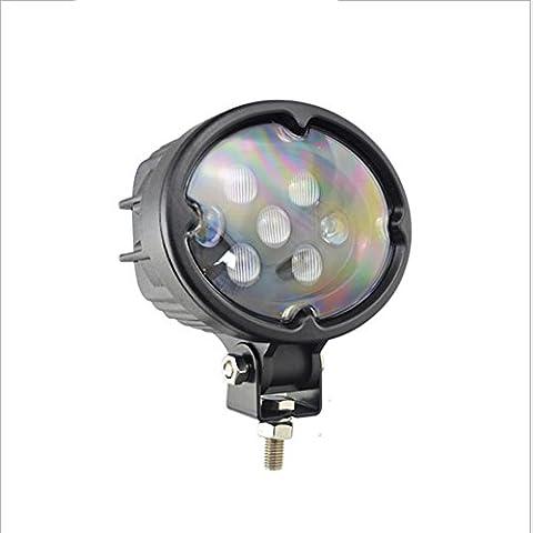 PENG Lumière de voiture modérée de voiture 35W lumières ovales haute luminosité ultra-longue portée