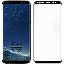 Samsung Galaxy S8 Plus Pellicola Protettiva, doupi 3D FullCover Premium 9H vetro temperato HD protezione dello schermo Touch Screen Protector Tempered Glass, nero