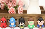 ARBUYSHOP Superman spiderman stylo batman U disque dur de 4 Go / 8 Go / 16 Go lecteur flash lecteur de mémoire flash stylo bâton / 32GB usb S23