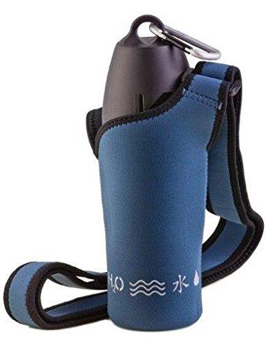 H2O4K9 Neosling mit 700 ml Hunde-Wasserflasche und Reise-Napf, Edelstahl