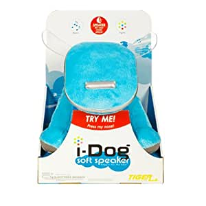 Hasbro i-Dog Blue Soft Plush Speaker