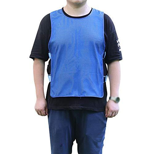 Sommer Outdoor Kühlweste Ice Cooling Sport Weste Hitzschlag Kühl Weste für Männer Frauen Sonnenstich Prävention Kleidung für Outdoor-Sport Laufen Arbeiten -