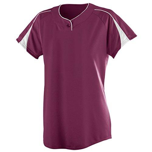Augusta Sportswear Women'S Diamond Softball Jersey 2Xl Maroon/White (Maroon Softball)