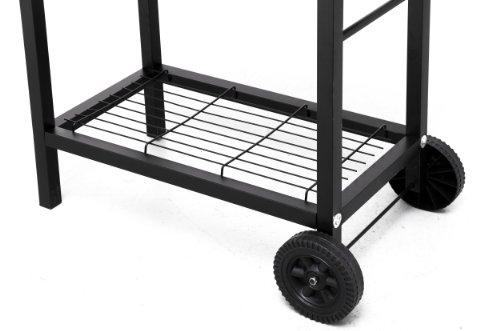 Tepro 1037″Detroit Barbecue a carbonella con trolley - 7