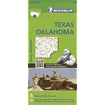 Michelin Texas, Oklahoma Map (Michelin USA, Band 176)