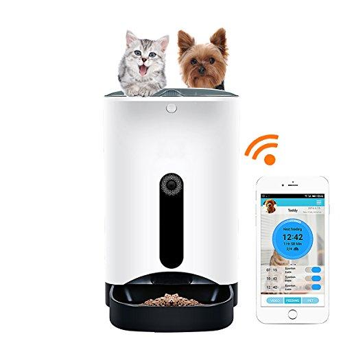 GemPet Automatic pet feeder PT-103 automatische Haustier Zufuhr mit Ihrem iPhone, Andriod oder andere intelligente Geräte gesteuert