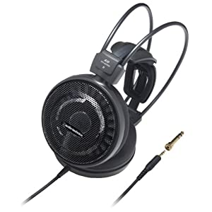 Audio Technica ATH-AD700X On-Ear Ausinės (6,3mm Klinkenstecker) schwarz