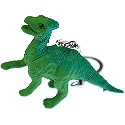 Llavero Saurolophus Miniblings Dino dinosaurio dinosaurios cabecero verde