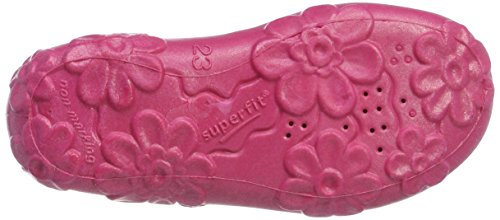 Superfit Mädchen Bonny Hausschuhe Pink (Pink)