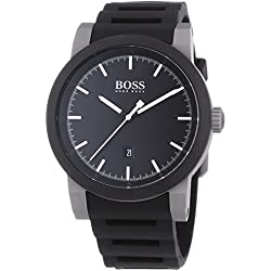 Hugo Boss Gents Watch XL Analogue Quartz Silicone 1512956 NEO