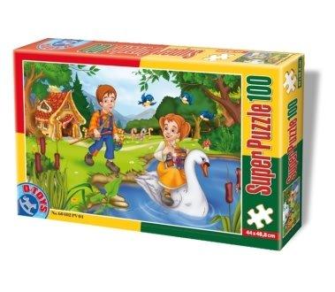 D-Toys - Rompecabezas, 100 Piezas (DT60402-PV-04)