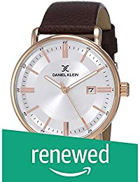 (Renewed) Daniel Klein Analog Silver Dial Men's Watch-DK12012-5